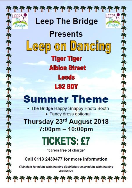Leep the Bridge - August 2018