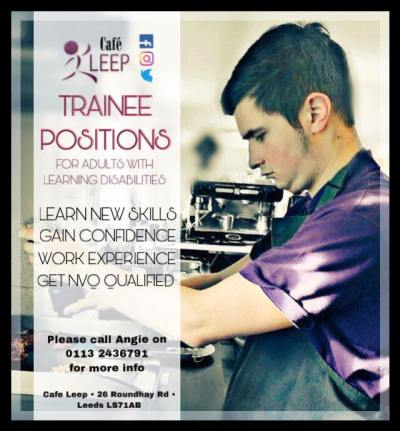 Trainee spaces poster