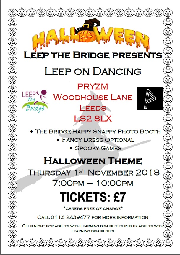 Leep the Bridge - November 2018